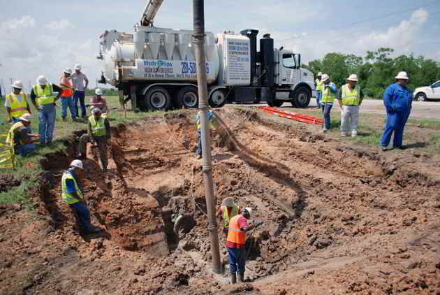 Pipeline Hydro Excavation Services Applications For Gas